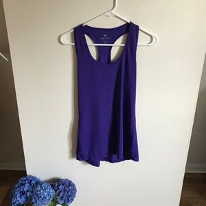 Purple Athletic Tank / Racerback - NWOT